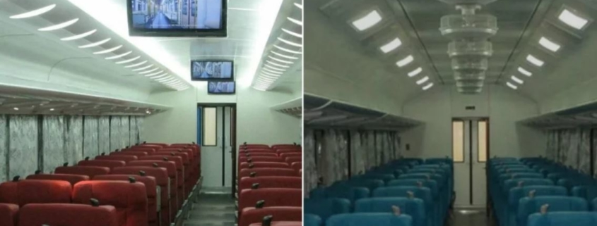 "HAVANA-HOLGUÍN TRAINS WILL HAVE ""FIRST CLASS"" WAGONS WITH AIR CONDITIONING AND TELEVISION"