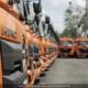 Otros 48 camiones colectores de basura japoneses llegarán a La Habana este mes