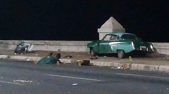Tres victimas fatales en accidente masivo en La Habana Foto: Mauro Torres/Facebook
