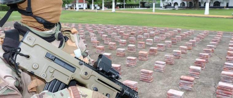 cocaine cargo in Panama
