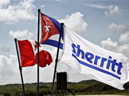"""Díaz-Canel se reúne con el presidente de la petrolera canadiense Sherritt y confirman """"buena marcha"""" de las inversiones"""
