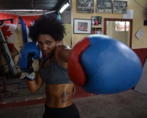 Cuba l'île de la boxe, les femmes restent interdites de compétitions