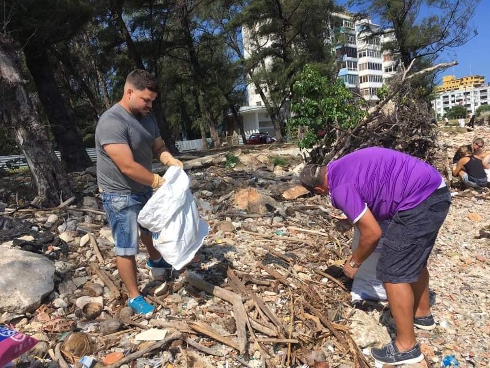 Próximo domingo nueva recogida de basura en la desembocadura del río Almendares