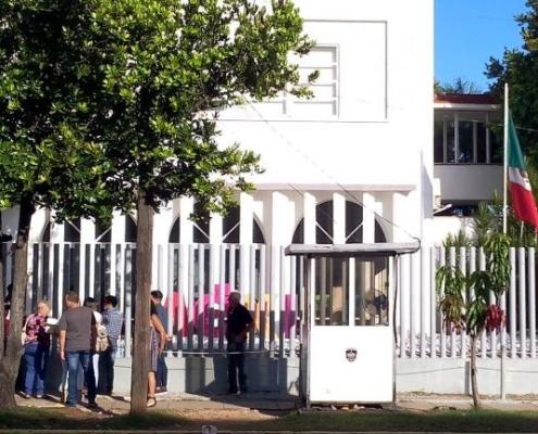 Consulado de México en La Habana anuncia que desde este 21 de junio abrirán las citas online