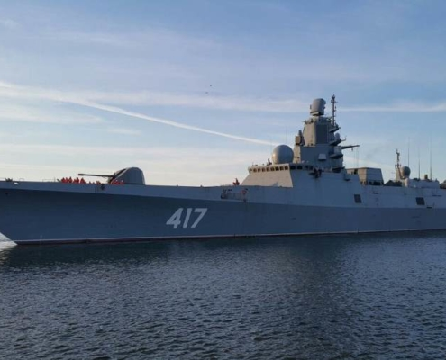 Russian warships head to Cuba for official visit