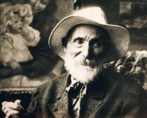 CUBAN ASSURES TO HAVE AN ORIGINAL RENOIR PICTURE DISAPPEARED DURING THE FIRST WORLD WAR