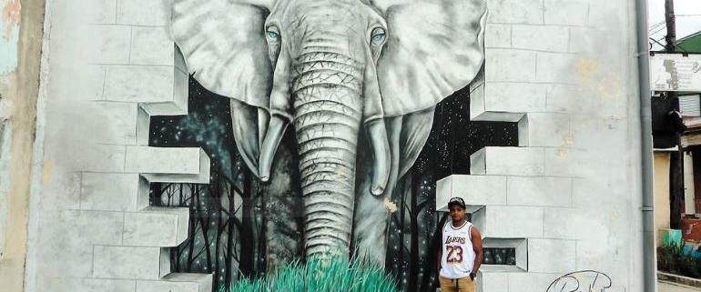 L'homme-éléphant de La Havane