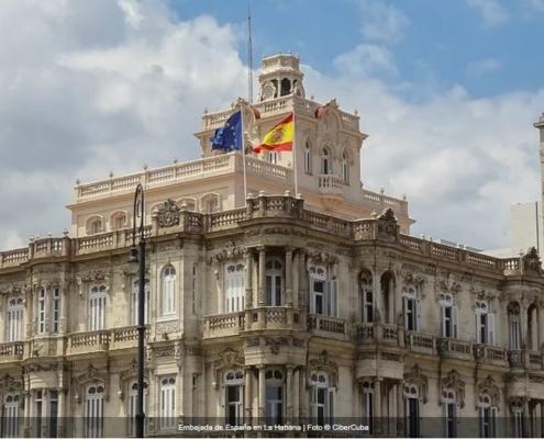Los cubanos que soliciten una visa en el Consulado de España en La Habana ya pueden consultar el estado en internet