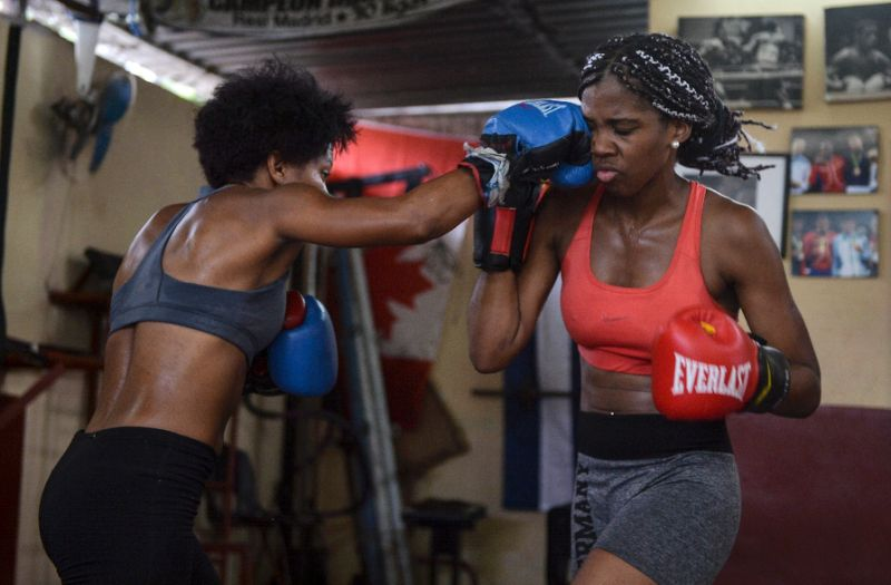 Women boxers striking a blow for equality in Cuba