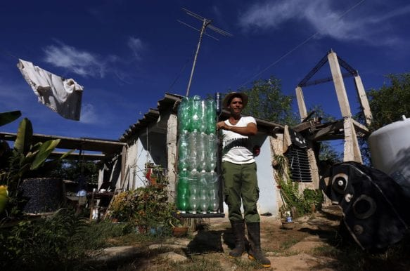 Water Collection and other Innovations on a Small Havana Farm