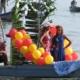 Carnaval acuático en la capital , iniciativa para refrescar el verano