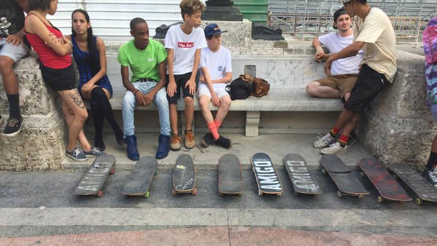 Les skaters de Cuba rêvent de lumière alors que leur sport devient olympique
