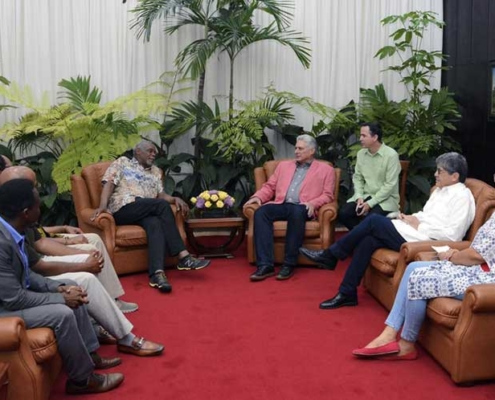 Danny Glover is a great friend of Cuba, says Díaz-Canel