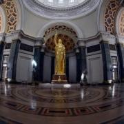 En fotos, restaurada la Estatua de la República de Cuba del Capitolio de La Habana