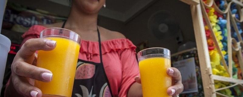 Jugolandia: Natural Fruit Juice Bar in Havana