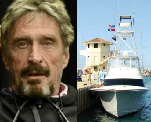 Crypto mogul John McAfee arrested in Puerto Plata coming from Havana