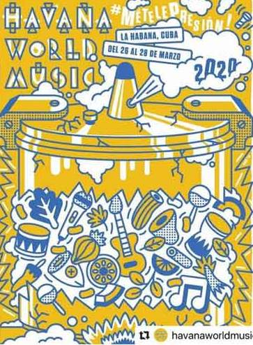 Festival Havana World Music anuncia edición para 2020