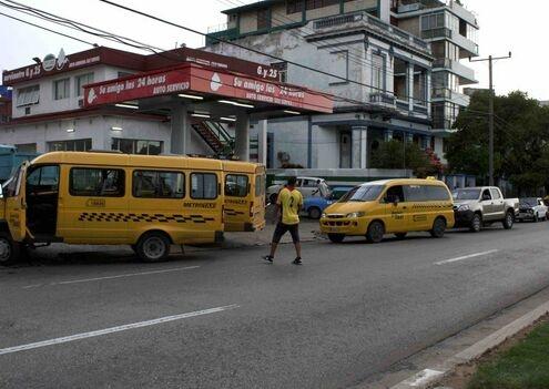La gasolina está 'perdida' en La Habana