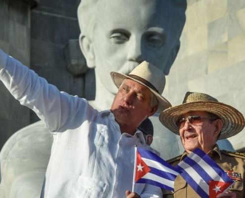 Mr Díaz-Canel, who in 2018 succeeded Mr Castro as Cuba's president, had been widely tipped for the arguably more influential post of party