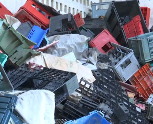 Cooperative turns plastic waste into lumber