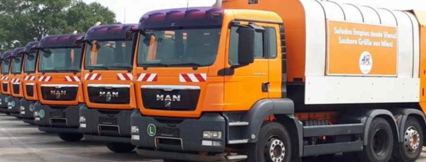 El alcalde de Viena dona diez camiones de basura a La Habana