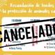 Cancelan jornada festiva a favor de protección animal en La Haban