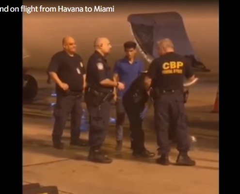 Man found in the cargo area on Swift Air flight from Havana to Miami