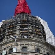 Develan la cúpula del Capitolio de La Habana