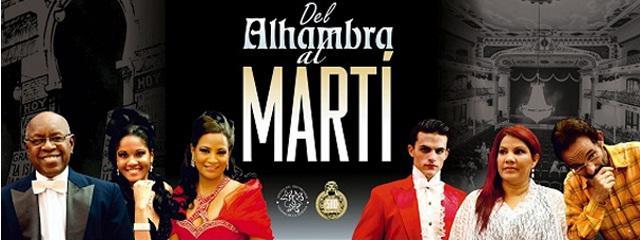 """""""Del Alhambra al Martí"""" refresca tradiciones del importante teatro musical cubano"""