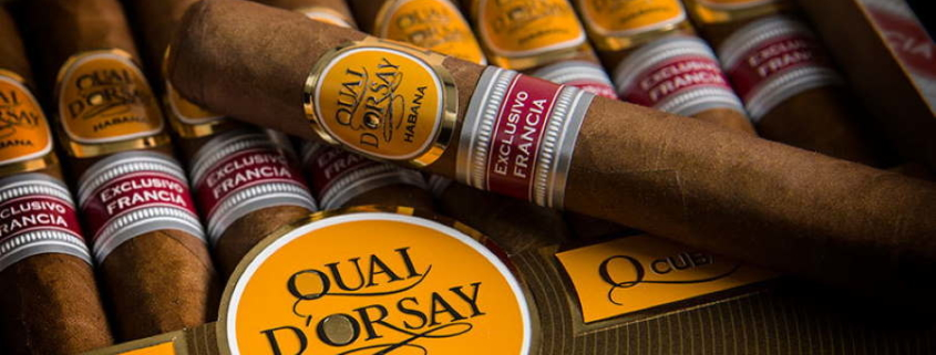 Habanos S.A. lancera à Paris une édition limitée de la marque Quai D'Orsay Senators