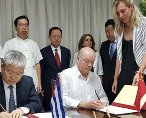 Recibe Cuba más de 110 millones de dólares como parte de un donativo chino