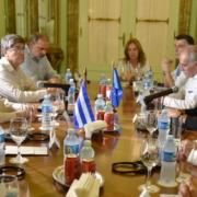 L'UE vient montrer son soutien à Cuba