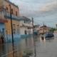 Fuertes lluvias inundan la ciudad de Bayamo