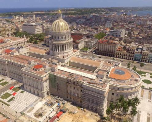 En fotos, resplandece la cúpula del Capitolio Nacional