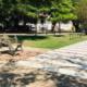 Inaugurated in John Lennon Park pedestrian zebra like Abbey Road