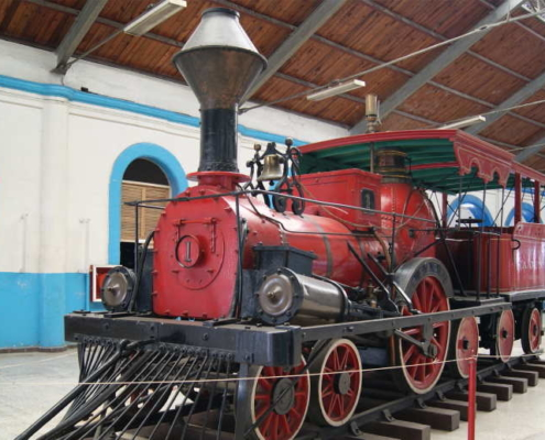 The Restauration of the Railway Museum in Havana is underway