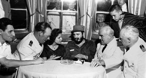 """Muere la """"Mata Hari"""" del Caribe, amante de Fidel Castro"""