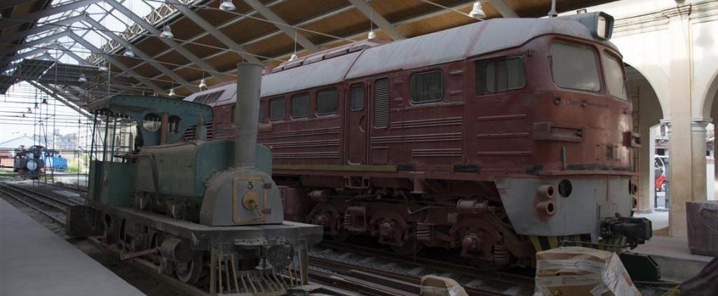 The Restauration of the Railway Museum in Havana is underway