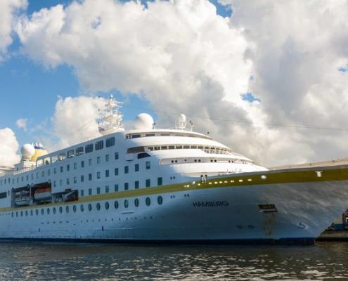 Buque alemán MS Hamburgo inicia temporada de cruceros procedentes de Europa