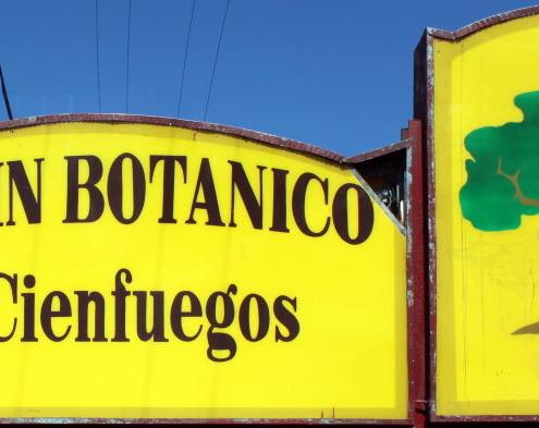Jardín botánico de Cienfuegos, es el más antiguo de Cuba