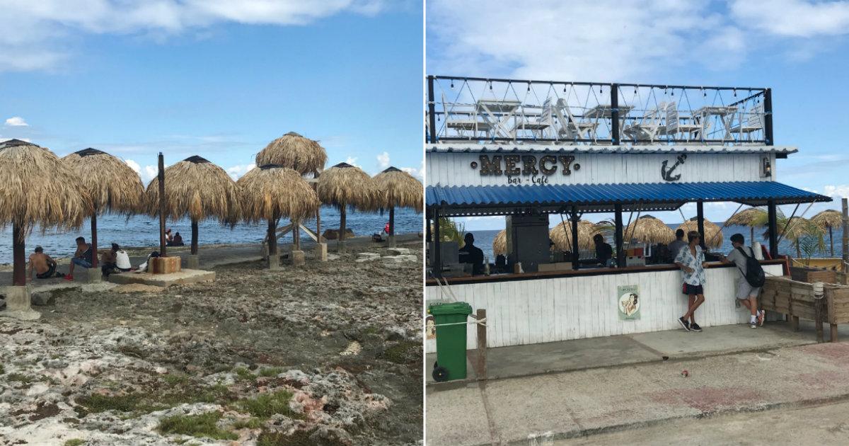 La nueva imagen de la playita de 1ra y 70, en La Habana