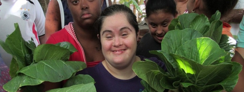 Children and people with disabilities learn and have fun at Granjita feliz. Photo: IPS Cuba