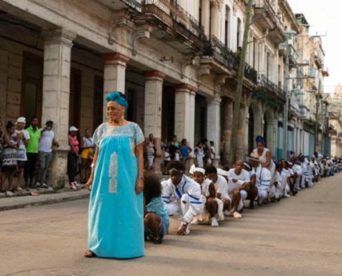 Omara Portuondo le canta a La Habana