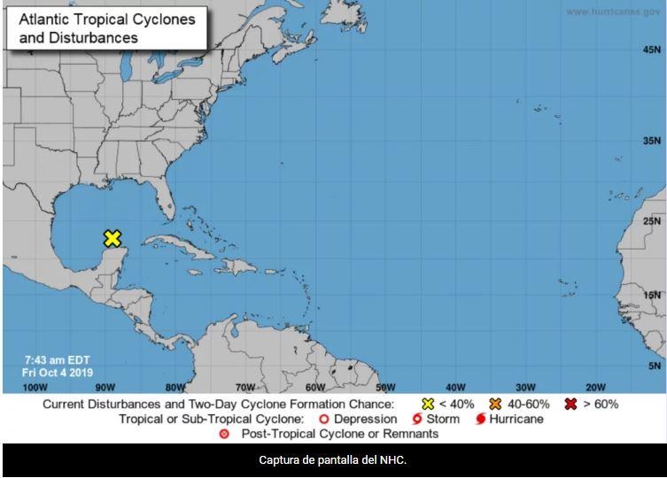 Pronostican lluvias fuertes e intensas en Cuba por perturbación tropical