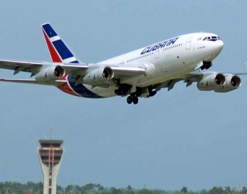 Cubana de Aviacion announces the cancellation of several of its international flights