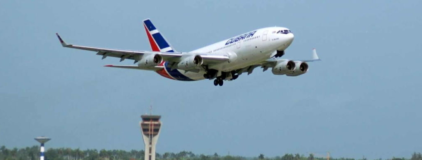 Cubana de Aviacion announces the cancellation of several of its international flights