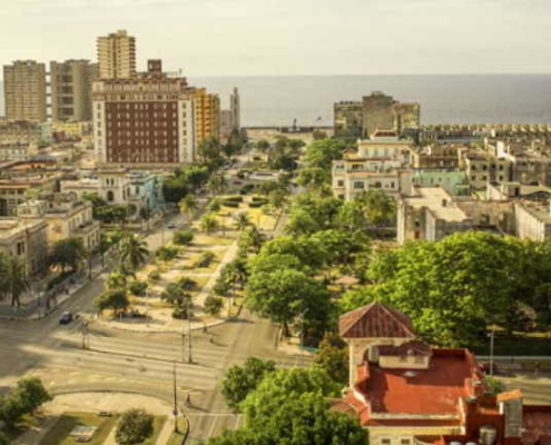 Is the real estate market subsiding in Havana?