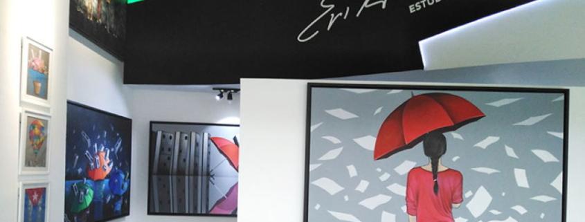 Inauguran estudio taller de Erik Varela