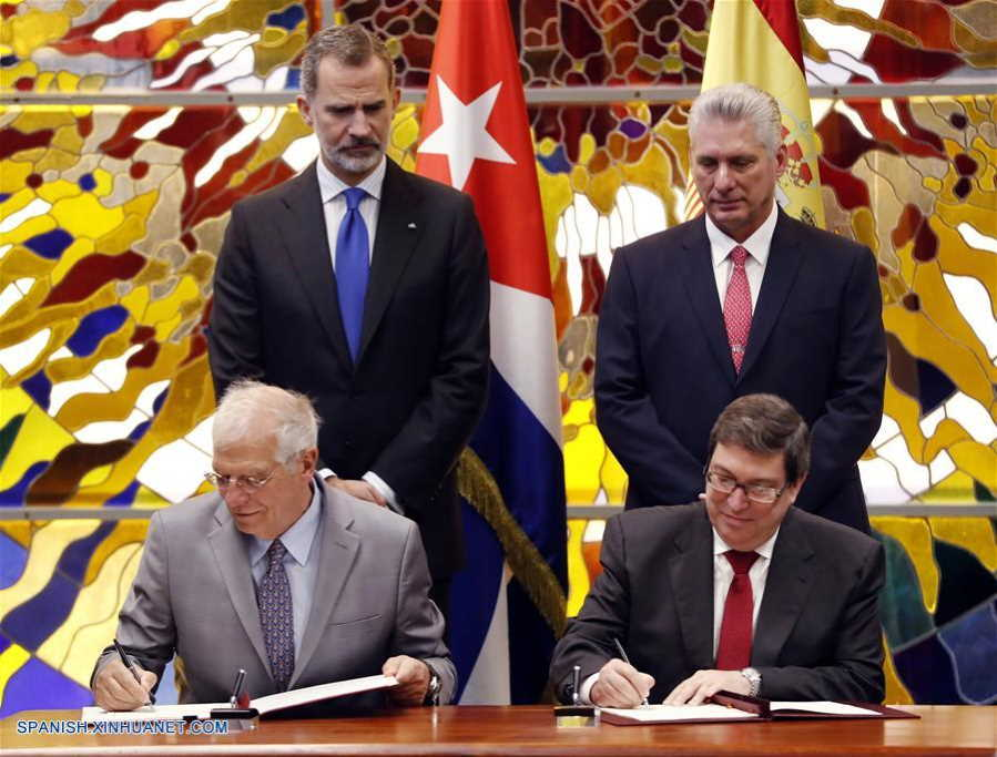 Cuba and Spain sign cooperation framework agreement in Havana