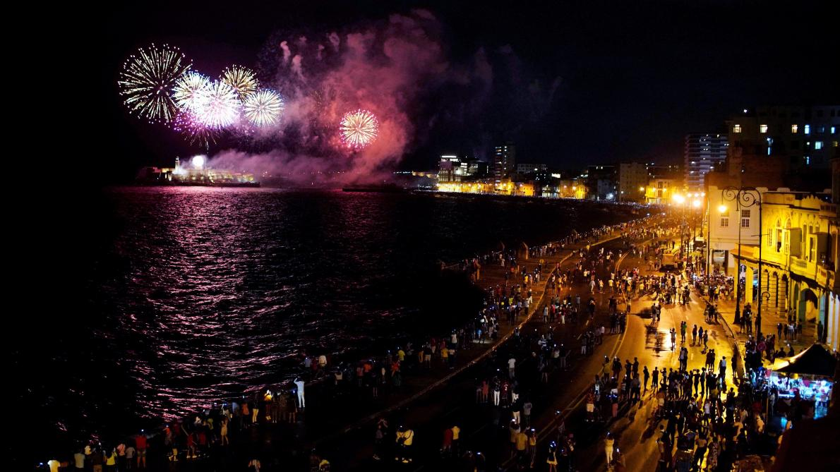 Havana marks 500th anniversary with fireworks and celebration